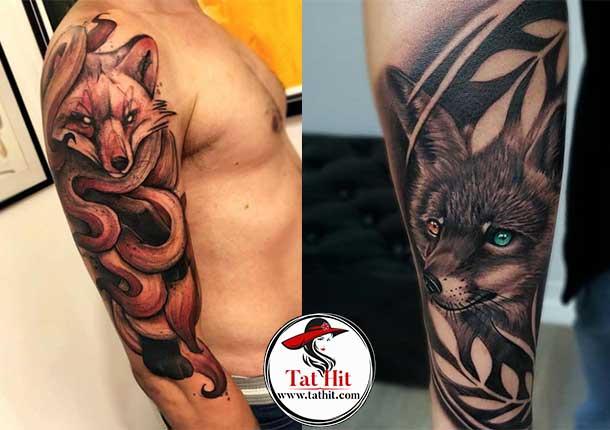 3d fox tattoos
