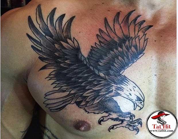 Eagle wing tattoo design