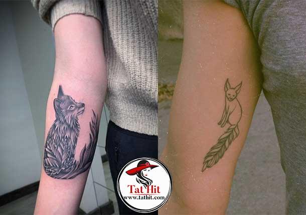 Fennec fox tattoo