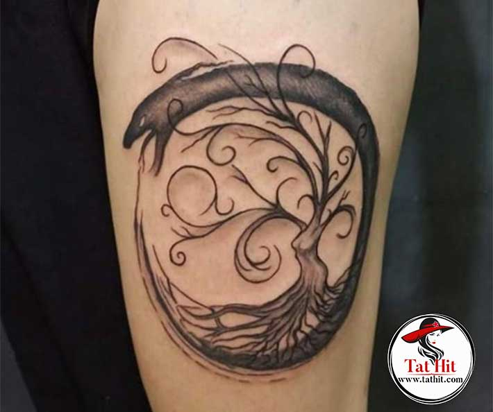 Ouroboros tattoo designs meanings