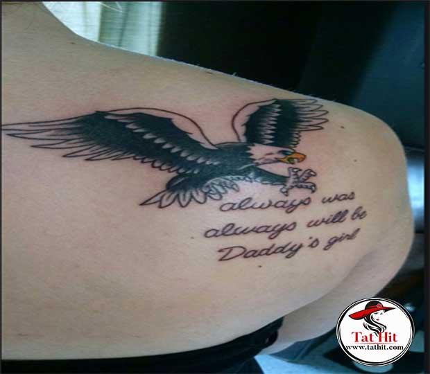 eagle-quotes-tattoo-design
