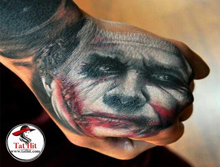 killer joker tattoo