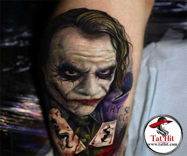 killer joker tattoos