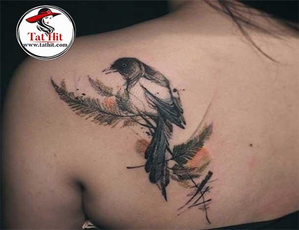 magpie tattoo symbolism