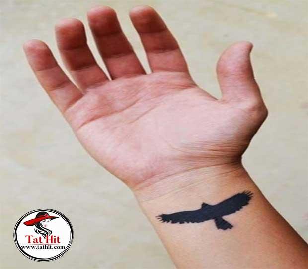 tiny eagle tattoo designs