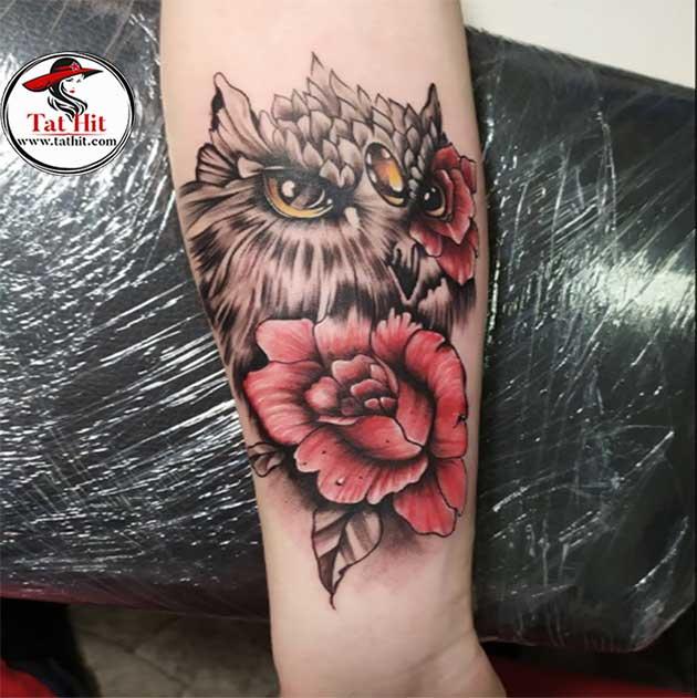 Japanese Owl Tattoos