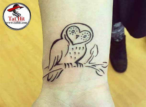 Small owl tattoo ideas