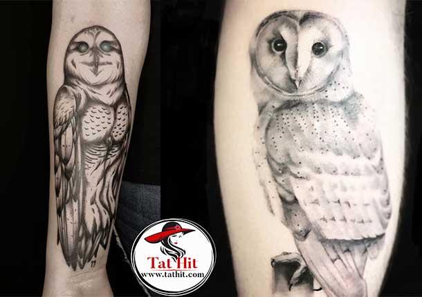 White Owl tattoo ideas
