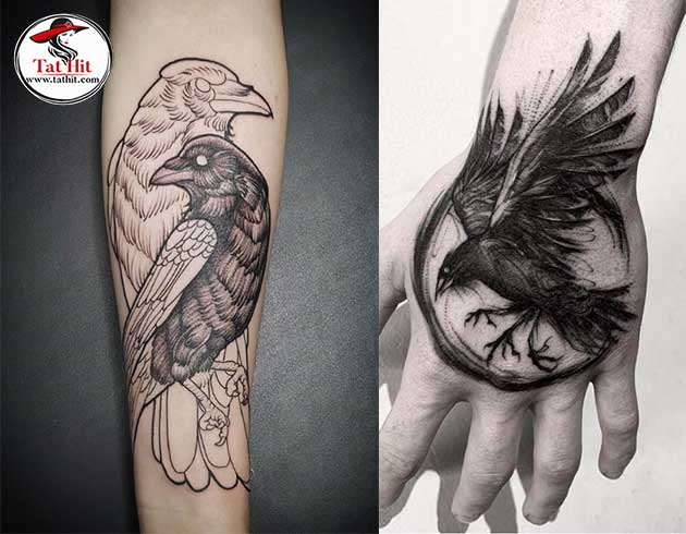 crow tattoo meaning