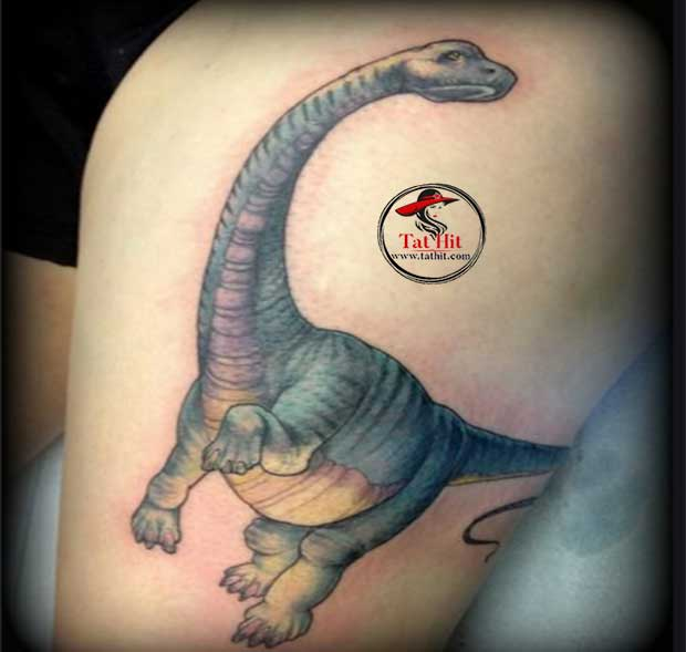 Apatosaurus tattoo