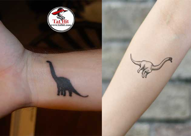 Brontosaurus tattoo ideas