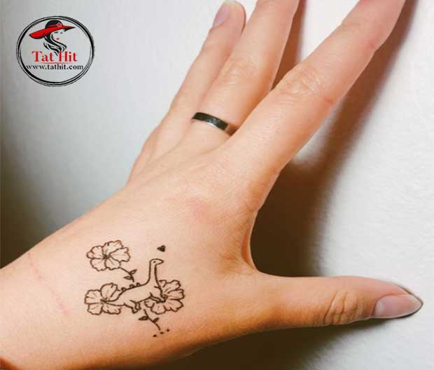 cute dinosaur tattoos