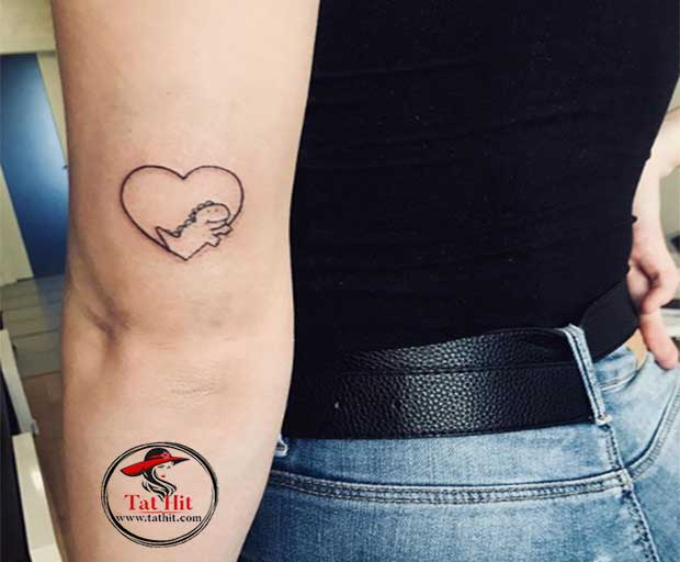 small dino tattoos