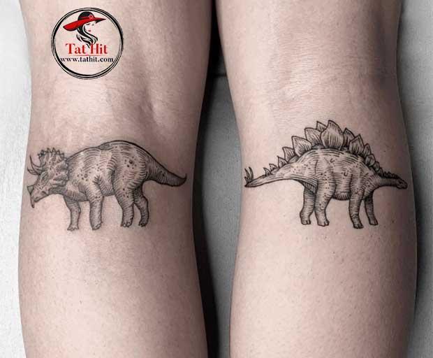 triceratops tattoo designs