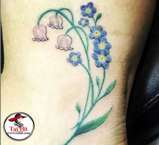 Lily Of The Valley Tattoo Watercolor