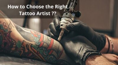 How to choose the right Tattoo Artist