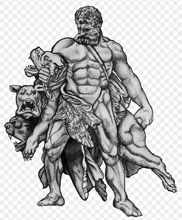 What is a Cerberus in Greek mythology