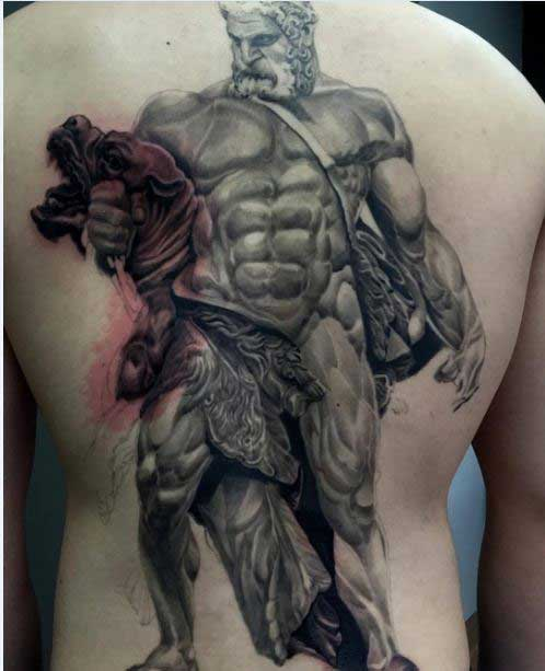 hades and cerberus tattoo