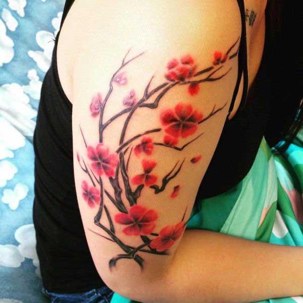 wild gladioli tattoo