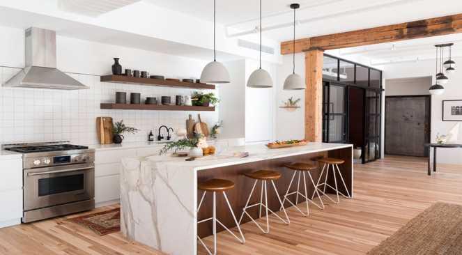 Different ways to utilize dark ledges in your kitchen plan